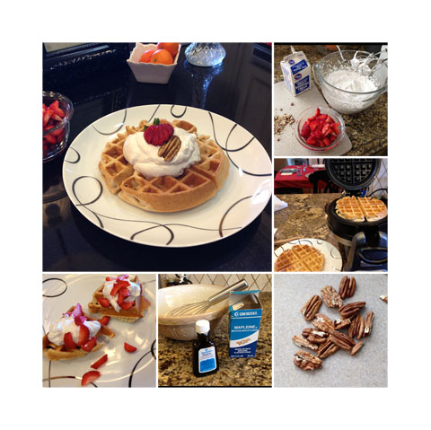 pecan-maple-waffle-collage
