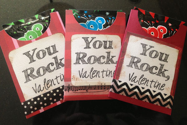 It's just a photo of Refreshing You Rock Valentine Printable