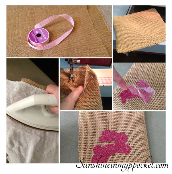 makings-of-a-burlap-bunny-bag