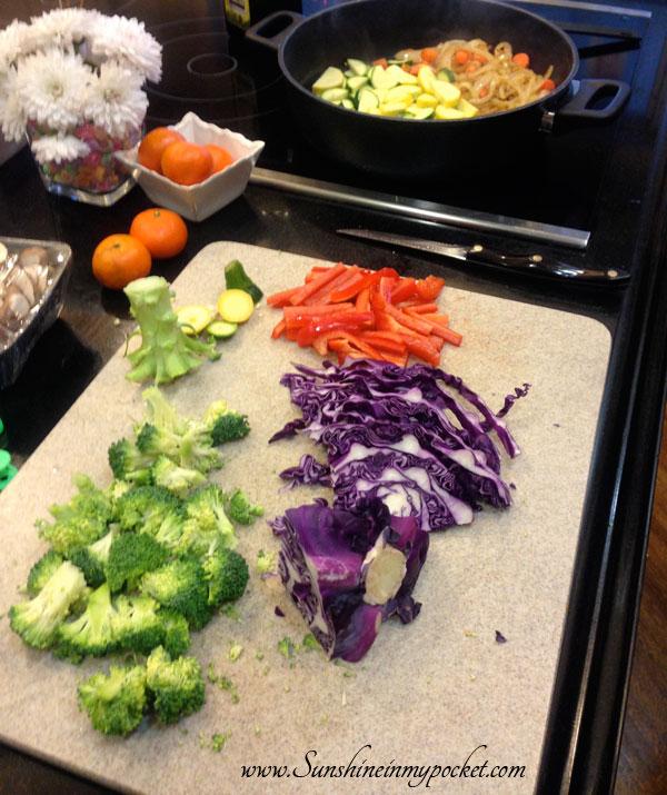 yakisoba-veggies