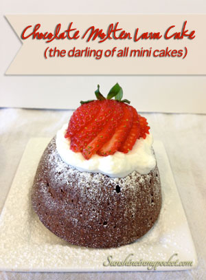 Taste Test Tuesday — Chocolate Molten Lava Cake Recipe