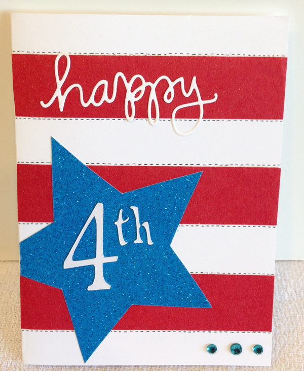 4th Of July Card Making Ideas Part - 30: 7-13 Happy 4th Card