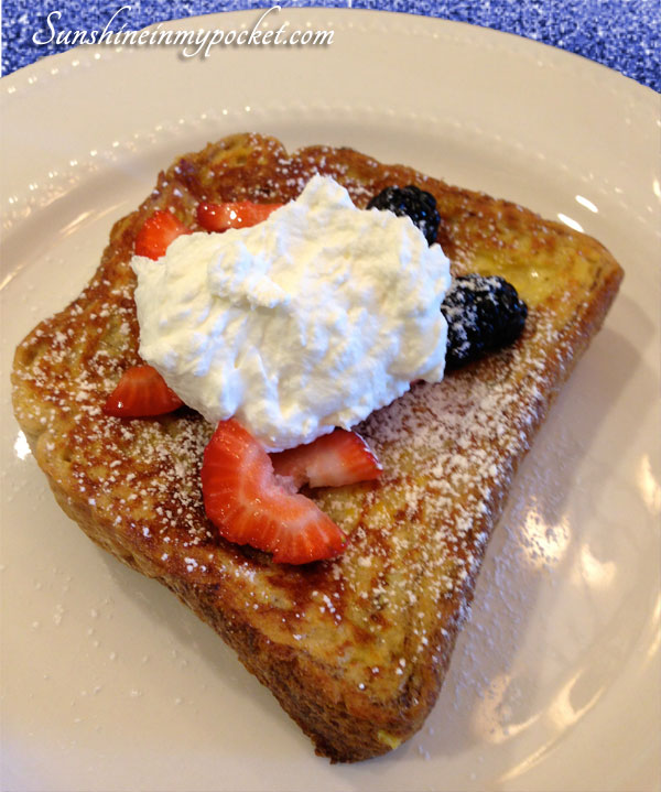 french-toast-with-whipped-cream