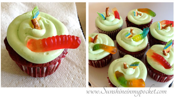worms-in-cupcakes