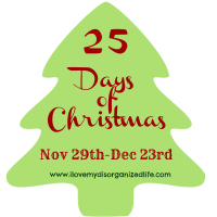25 Days of Christmas Button